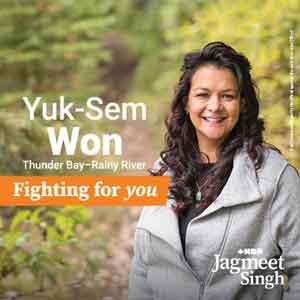 NDP - Thunder Bay-Rainy River Yuk-Sem Won