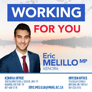 Kenora MP Eric Melillo