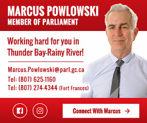 Marcus Powlowski MP - Thunder Bay Rainy River