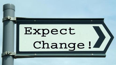 expect change