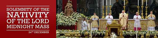 Midnight Mass from the Vatican