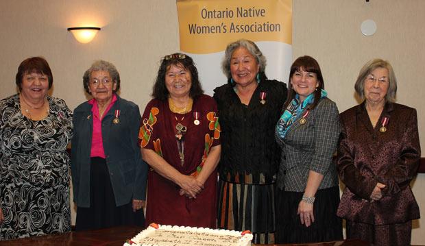 ONWA honoured that six Aboriginal women receive Diamond Jubilee Medal