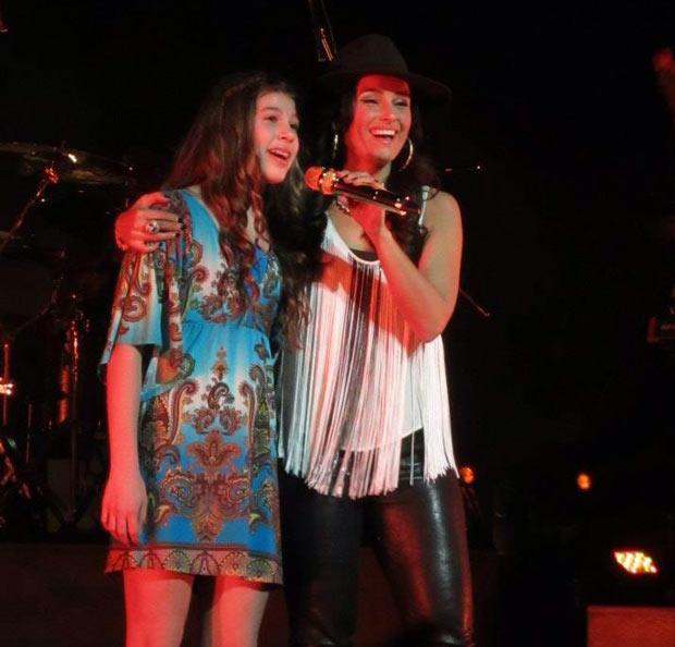 Nelly Furtado and Capri - Photo by Samantha Ruberto