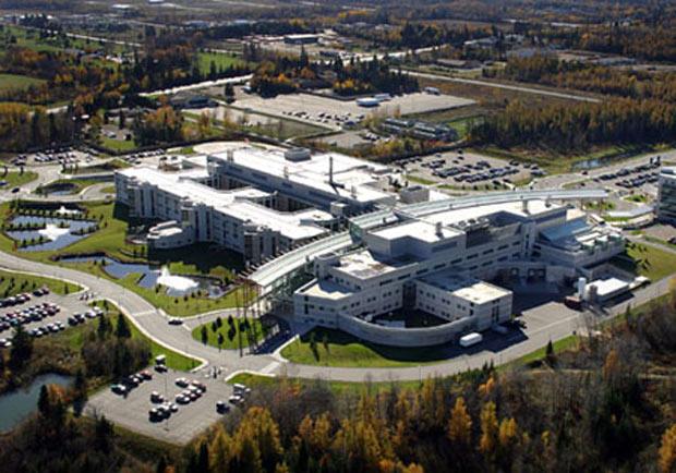 Thunder Bay Regional Health Sciences Centre - TBRHSC - Aerial View Northeast