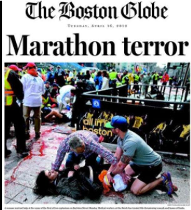 Cowardly act of terror
