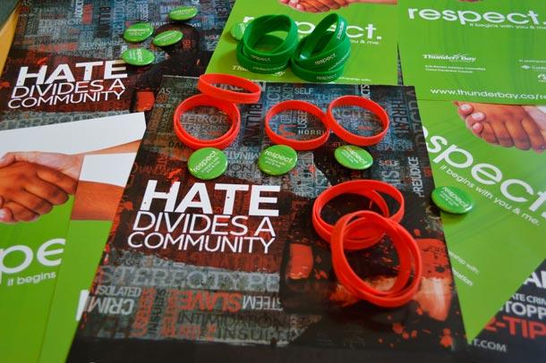 Hate Divides a Community