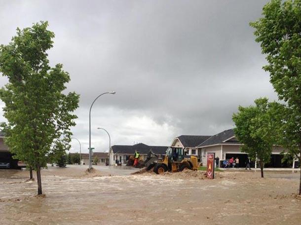 High River Alberta Flooding