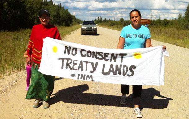 Idle No More, Treaty 6