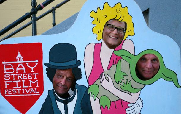 Joe Davidow, Kelly Saxberg and Ron Harpelle