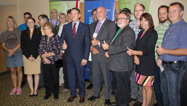 Major announcements of $3 million in Funding for Thunder Bay made this morning by Minister Rickford.