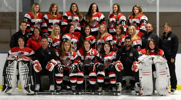 The Sportop Queens Women's Hockey Team does Thunder Bay Proud Again!