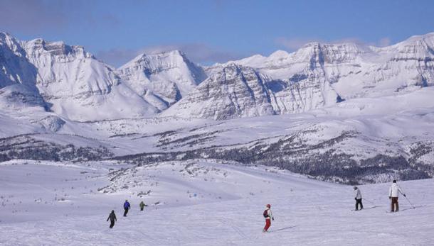 Sunshine Village in Alberta boasts Canada's best snow.