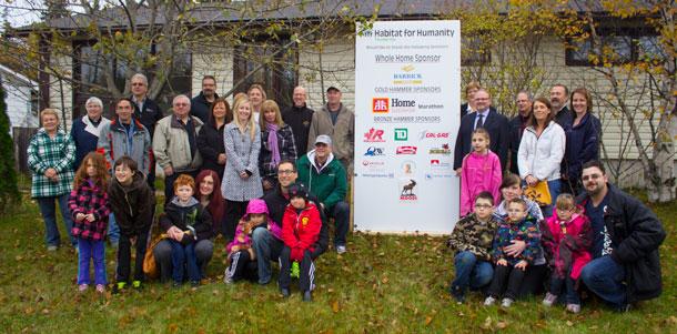 World Habitat Day in Marathon