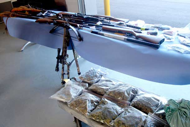 Operation Gordonvale has seen thirty eight arrests, and a quarter of a million in drugs seized.