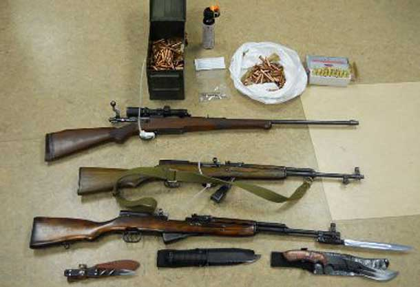 The RCMP have released images of firearms and other items seized in their operation in Rexton New Brunswick.