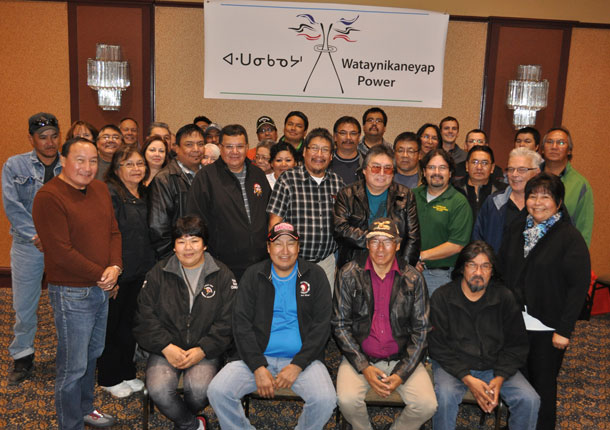 Wataynikaneyap Power officially welcomed five (5) Keewaytinook Okimanak First Nations Council communities into the First Nation-led transmission initiative.