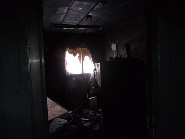 Attawapiskat Shelter room that caught fire