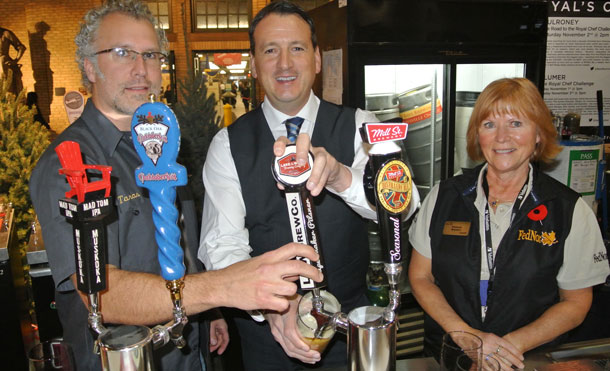 Fednor Minister Rickford at the bar