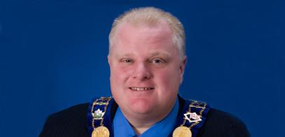 Mayor Rob Ford of Toronto