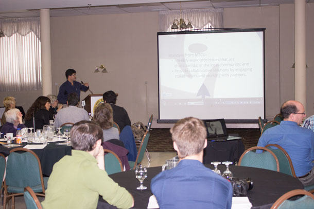 The Thunder Bay District Municipal League meetings wrapped up today at the Prince Arthur Hotel
