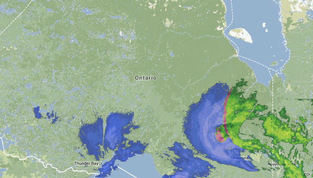 Most of the weather systems have moved off to the east.