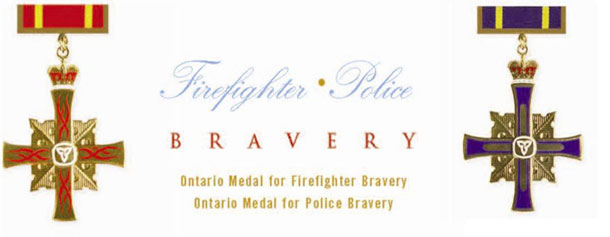 Four Northwestern Ontario Police Officers were honoured with bravery awards.