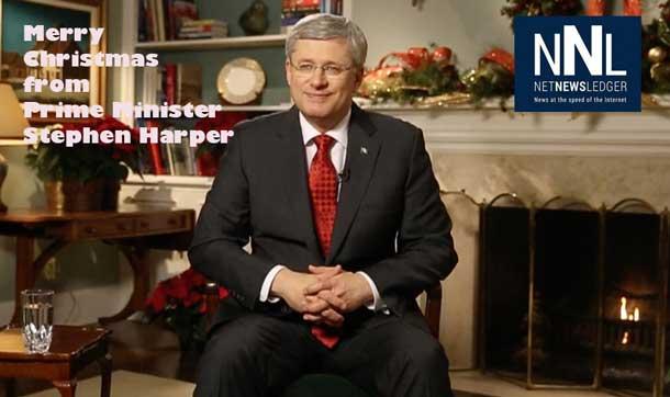 Merry Christmas from Prime Minister Harper