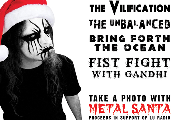 Heavy Metal Xmas poster