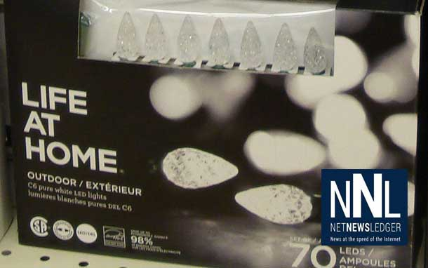 Life at Home 70 C6 LED Outdoor w White recalled over shock or fire risk