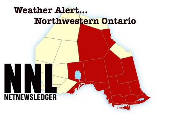 Weather Warnings in Northern Ontario