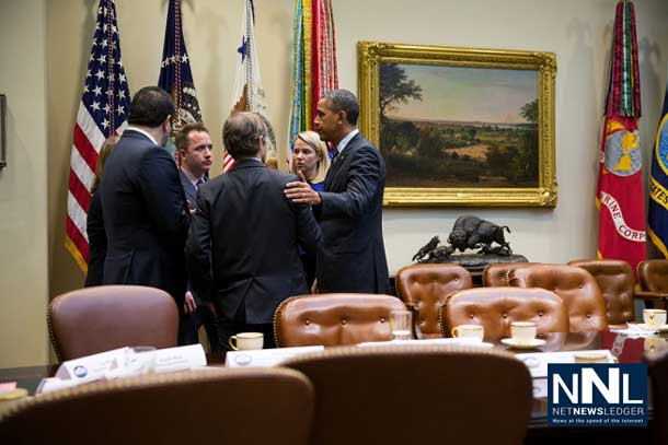 President Obama meets with the heads of High Tech Companies in the White House over NSA Snooping - Image The White House