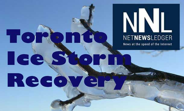 Toronto continues to recover from the Ice Storm