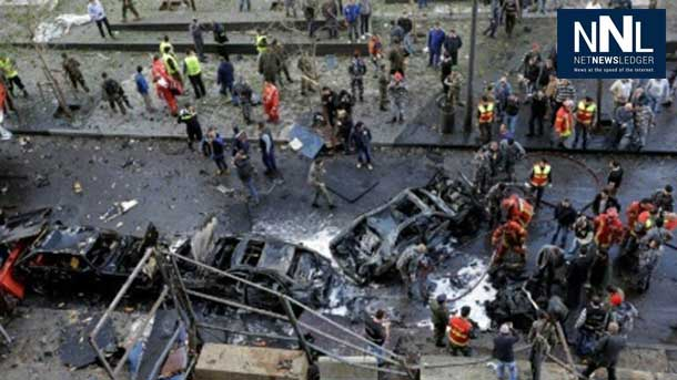 A car bombing in Beirut Friday that killed at least six people, including former cabinet minister Mohamed Chatah