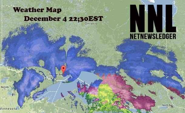 Thunder Bay Radar Map NetNewsLedger   Thunder Bay Winter Storm Warning Continued