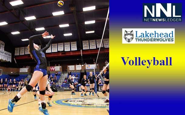 Lakehead University Women's Volleyball Splash