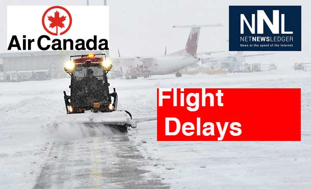 Air Canada says severe weather continues to impact the airline.