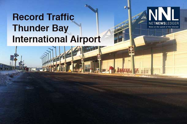 A rare quiet moment at the Thunder Bay International Airport.