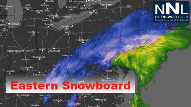 Snow and Ice are gripping the United States Eastern Seaboard.