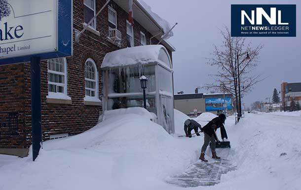 Thunder Bay is digging out from a major snow storm