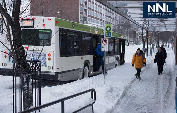 Thunder Bay Transit is running.