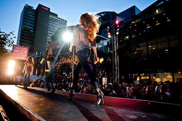 Montreal's 100-plus festivals each year make it North America's festival capital. The festivals cover a wide range of interests, including fashion. Photo: jimmyhamelin.com.