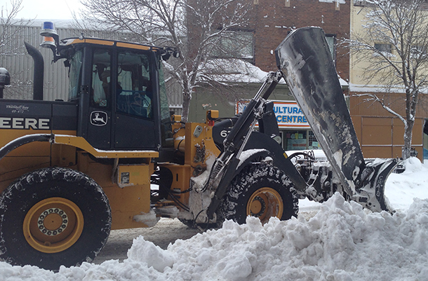 City of Thunder Bay Road Clearing has been a full task for months this year.
