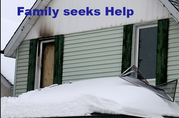 A Thunder Bay family seeks help to recover from a fire.