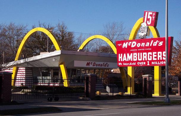 McDonald's Profit Forecast is down.