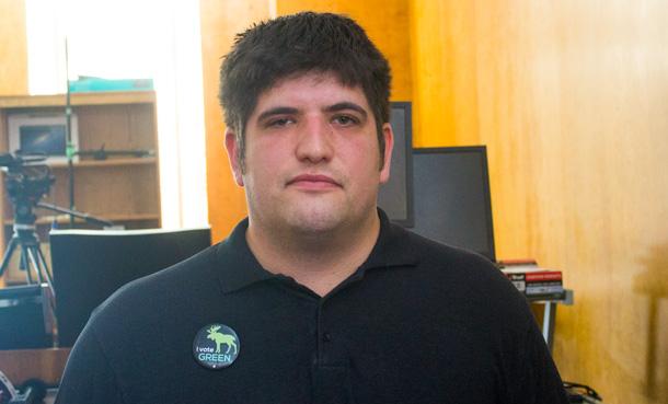 Thunder Bay Superior North Green Party candidate Joseph Leblanc