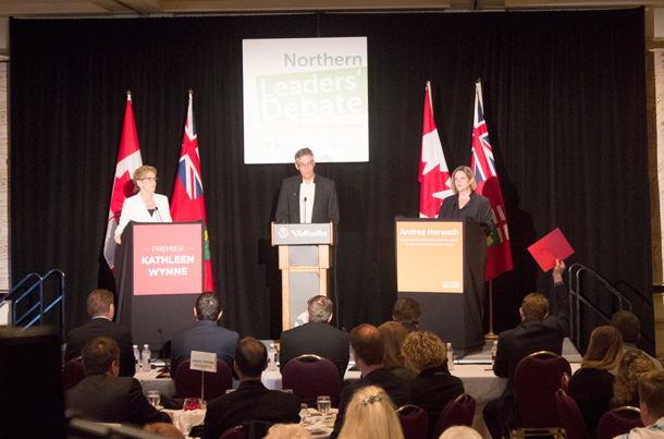 Northern Leaders Debate at the Valhalla Inn to a sold out audience of over 350 people.