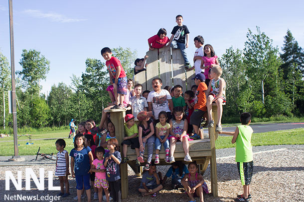 Happy Canada Day from the kids in the Windsor and Blutcher / Picton Neighbourhood Photo by Nicole Baxter