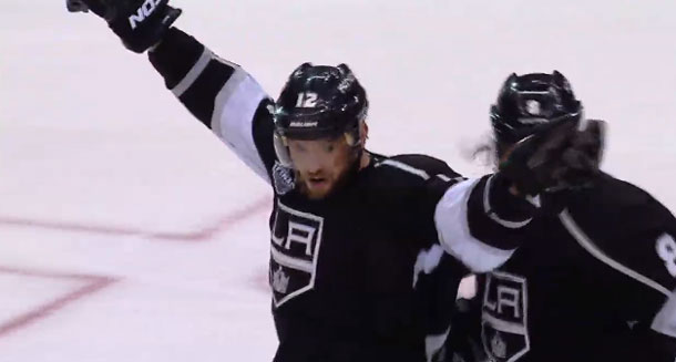 It took double overtime but the Kings are up 2-0 in the Stanley cup Final