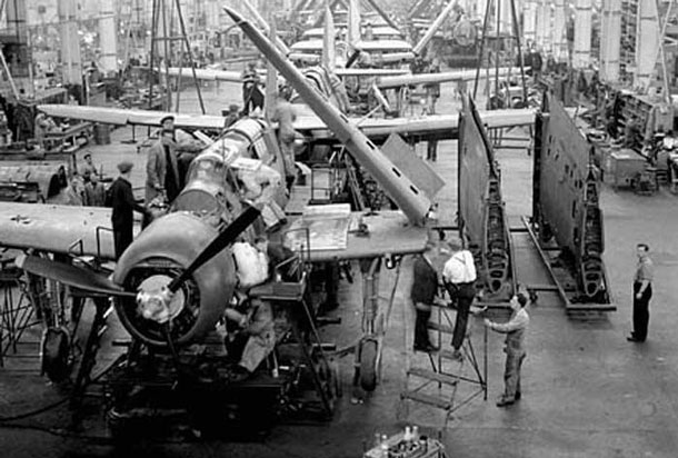 The Hawker Hurricane was manufactured in Thunder Bay - Today the plant is still here making the Bombardier rail cars that are exported world-wide.