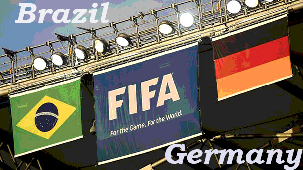 Brazil takes on Germany to decide who goes on to the finals